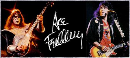 KISS - Ace Frehley Guitar Picks