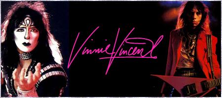 KISS - Vinnie Vincent Guitar Picks