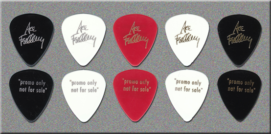 KISS - Ace Frehley - 12 Picks CD Promo Guitar Picks