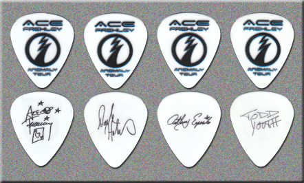 KISS - Ace Frehley - Anomaly Guitar Picks