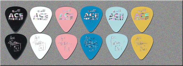 KISS - Ace Frehley - Bad Boys Guitar Picks