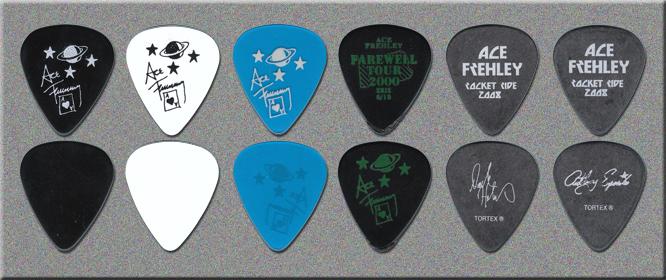 KISS - Ace Frehley - Rocket Ride Guitar Picks