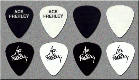 KISS - Ace Frehley - Trouble Walking Guitar Picks