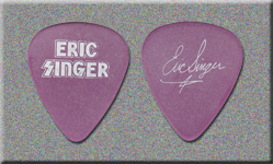 KISS Eric Singer All Access To Drumming DVD Promo Guitar Pick