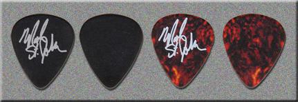 KISS Mark St. John KISS Expo Promo Guitar Picks