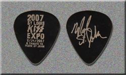 KISS Mark St. John St. Louis Expo Promo Guitar Pick