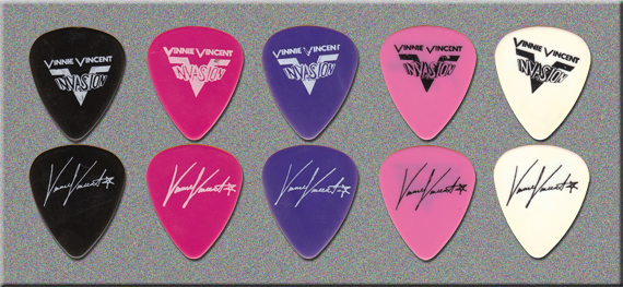 KISS - Vinnie Vincent Invasion Guitar Picks