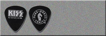 2002 KISS Dark Horse Comics Guitar Picks