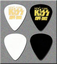 KISS 2002 New York Expo Guitar Picks