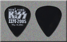 KISS 2005 New York Expo Guitar Picks