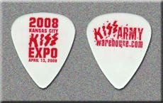KISS 2008 Kansas City Expo Guitar Picks