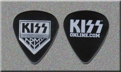 2008 KISS Army Membership Promo Guitar Picks