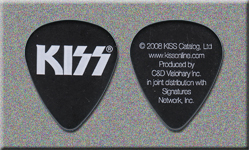 2008 KISS Officially Licensed Promo Guitar Picks