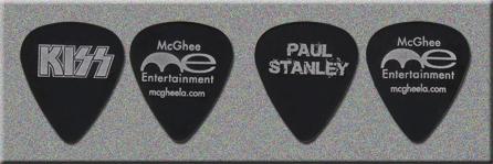 KISS & Paul Stanley McGhee Entertainment Guitar Picks from Swagbucks.com