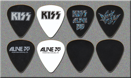 KISS ALIVE 35 Meet & Greet Guitar Picks