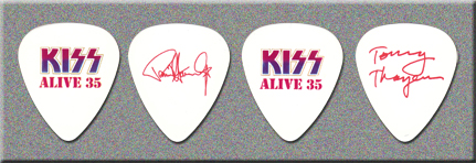KISS ALIVE 35 Prototype Guitar Picks