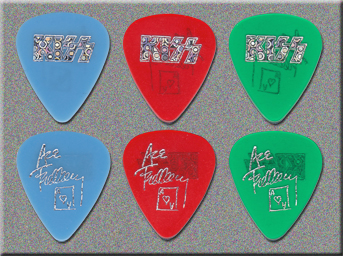 KISS Farewell Tour Fake D'Andrea Guitar Picks
