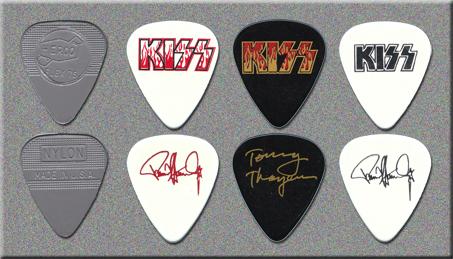 KISS Hit N Run Tour Guitar Picks