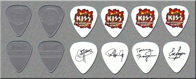 KISS Hottest Show on Earth Tour Guitar Picks