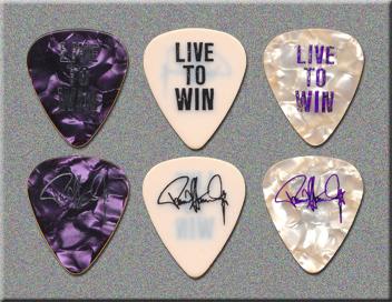 KISS Paul Stanley Live To Win Tour Guitar Picks