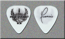 KISS Paul Stanley Live To Win Tour Tech Guitar Picks