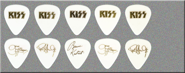 KISS Revenge Tour Guitar Picks