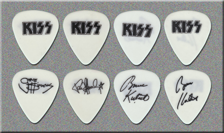 KISS Revenge Club Tour Guitar Picks