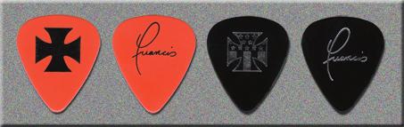 KISS Rising Sun Tour Tech Guitar Picks