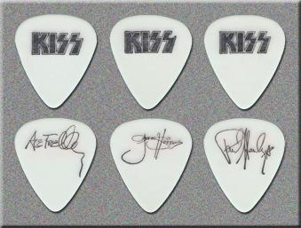 KISS Unmasked Tour Guitar Picks