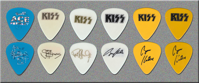 KISS MTV Unplugged Show Guitar Picks